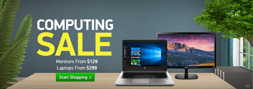"Computing Super Sale! 22"" Monitor Only $129 