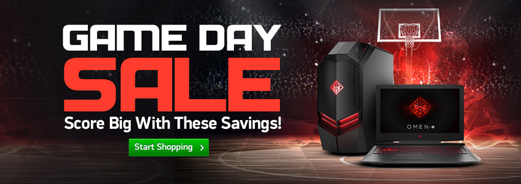 Game Day Sale! HP OMEN Desktop Now ONLY $949 + Free Shipping