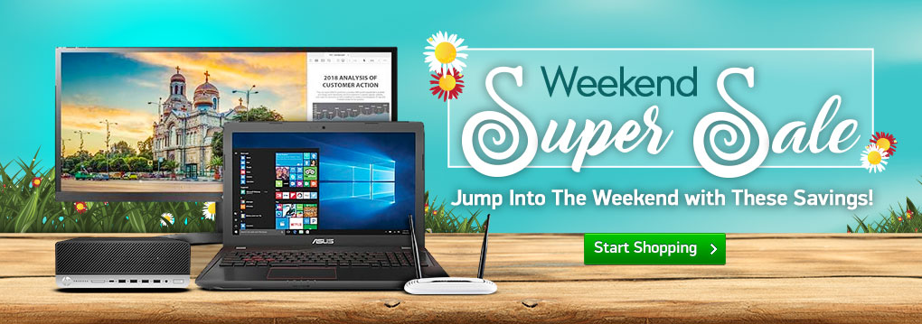 Weekend Super Sale! HP ProDesk PC Only $529 | Monitors From $89