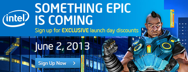 Something Epic is Coming: June 2, 2013!