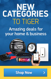New Categories To Tiger - Amazing new deals on products for your home and business.