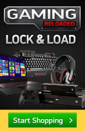 Gaming Reloaded. Lock and Load. Save on Gaming Rigs, Acessory, Console, Video Games and more.