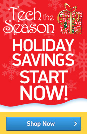 Tech the Season: Holiday Savings Start Now!