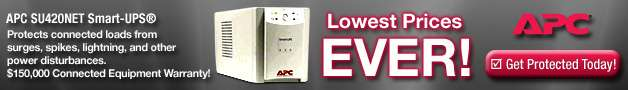 Power Protection from APC - Lowest Prices Ever!