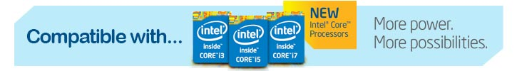 Intel 4th generation compatible