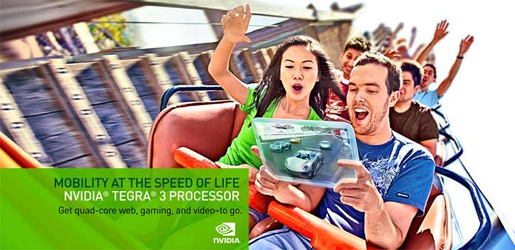 NVIDIA Tegra 3 Tablet Quad-core Processor