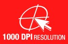 1000 DPI Resolution