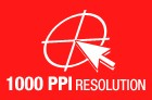 1000 PPI Resolution