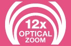 12x Optical Zoom