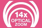 14x Optical Zoom