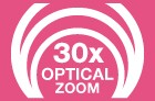 30x Optical Zoom