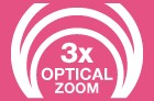 3x Optical Zoom