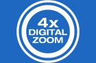 4x Digital Zoom