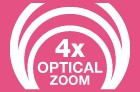 4x Optical Zoom