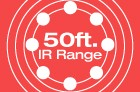 50ft IR Range
