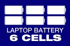 Laptop Battery 6 Cells
