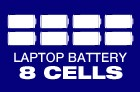 8-Cell Battery