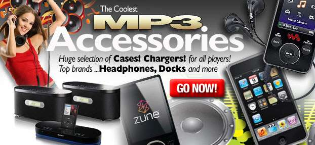 See all the great iPOD & MP3 accessories available right here!  Click here to see them all.