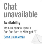 Live Chat Unavailable