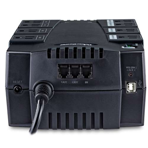 Alternate view 4 for CyberPower 650V/375W PC Battery Backup - SX650G