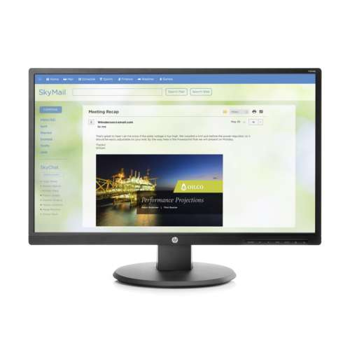 "Alternate view 2 for HP V244a 23.8"" Monitor - Z8W49A6#ABA"