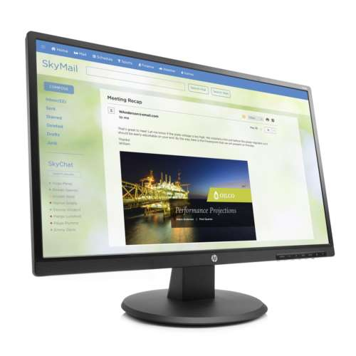 "Alternate view 3 for HP V244a 23.8"" Monitor - Z8W49A6#ABA"