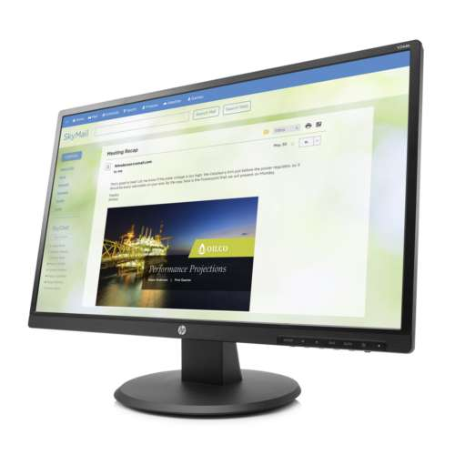"Alternate view 4 for HP V244a 23.8"" Monitor - Z8W49A6#ABA"