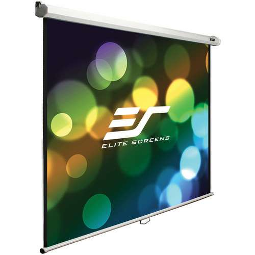 Alternate view 2 for Elite Screens M100V Manual B Projection Screen