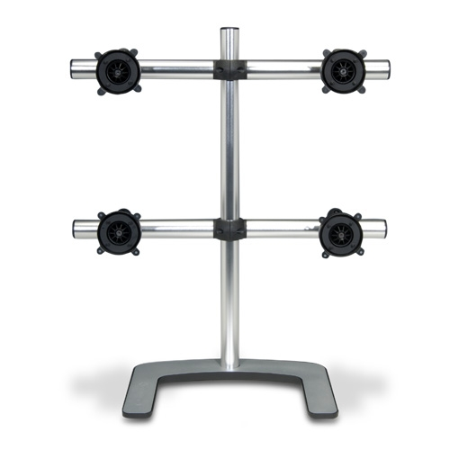 Alternate view 7 for Atdec V-FS-Q VISIDEC Freestanding Quad Mount