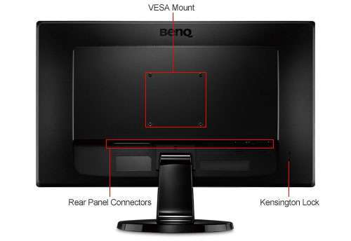 "Alternate view 7 for BenQ  24""  Class LED Gaming Monitor"