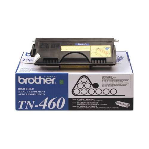 Alternate view 4 for Brother TN-460 Black Toner (6,000 Yield)