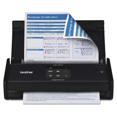 Alternate view 2 for Brother ImageCenter Document Scanner - ADS1000W