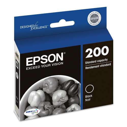 Alternate view 2 for Epson 200 Black Ink Cartridge