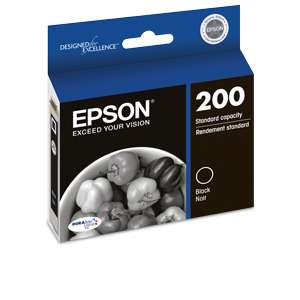 Alternate view 4 for Epson 200 Black Ink Cartridge