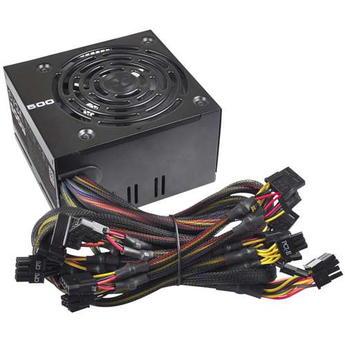 Alternate view 5 for EVGA 500W Power Supply Unit