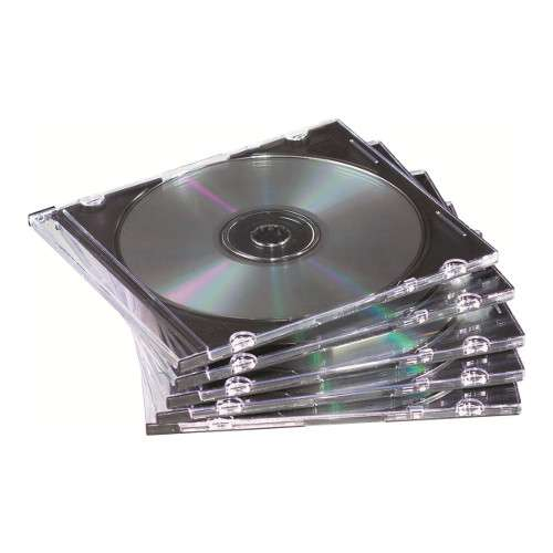 Alternate view 2 for Fellowes NEATO CD/DVD Slim Jewel Case - 98316