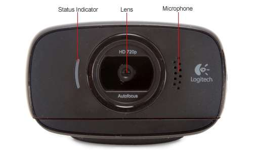 Alternate view 6 for Logitech 960-000715 C525 HD Webcam