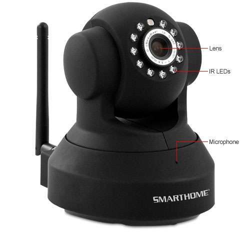 Alternate view 3 for Wireless IP Camera - PTZ Full Motion + 2-way Audio
