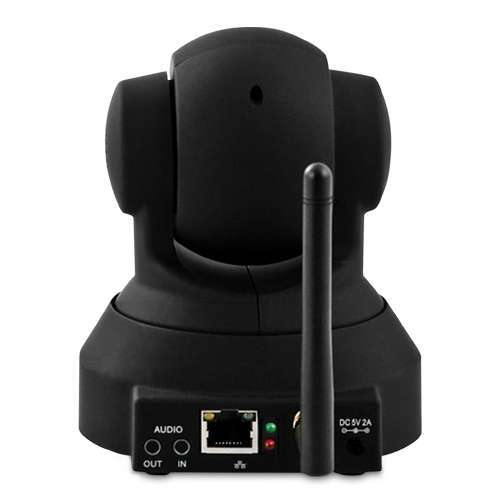 Alternate view 6 for Wireless IP Camera - PTZ Full Motion + 2-way Audio