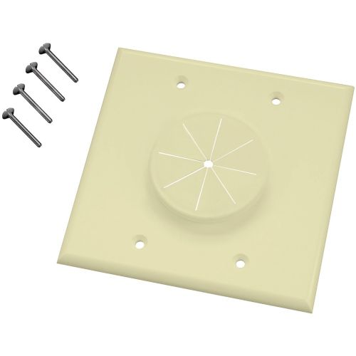 Alternate view 3 for DOUBLE-GANG WIREPORT(TM) WALL PLATE WITH