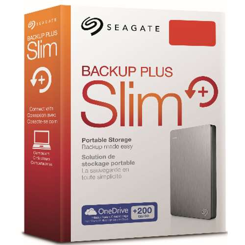 Alternate view 6 for Seagate® Backup Plus 2TB Portable Hard Drive