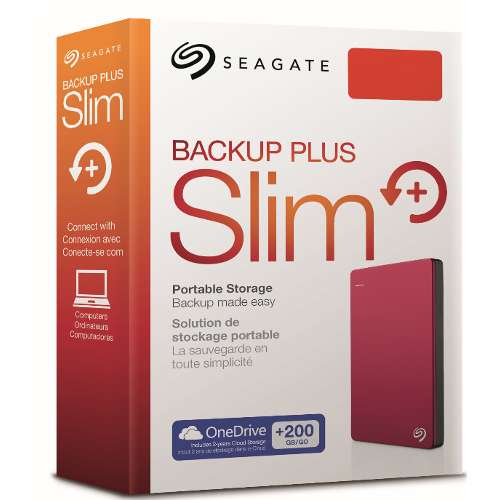 Alternate view 5 for Seagate® Backup Plus 2TB Portable Hard Drive