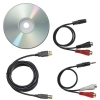 Alternate view 3 for Audio Technica AT-LP60USB LP to Digital Recording