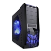 Alternate view 2 for Apevia X-Trooper Mid Tower Case w/ Blue LED