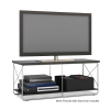 "Alternate view 3 for Atlantic 88335643 City TV Stand - up to 50"" TVs"