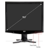 Alternate view 4 for Acer G185HV 19&quot; Class Widescreen LCD Monitor