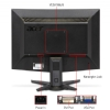 "Alternate view 2 for Acer 22"" Wide 1080p LCD Monitor, VGA, DVI"