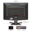 "Alternate view 2 for Acer 24"" Wide 1080p LCD Monitor, VGA, DVI"