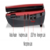 "Alternate view 7 for Acer Aspire Dual-Core 11.6"" Red Netbook"