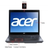 "Alternate view 7 for Acer Aspire Core i7, 4GB, 15.6"" Black Notebook"